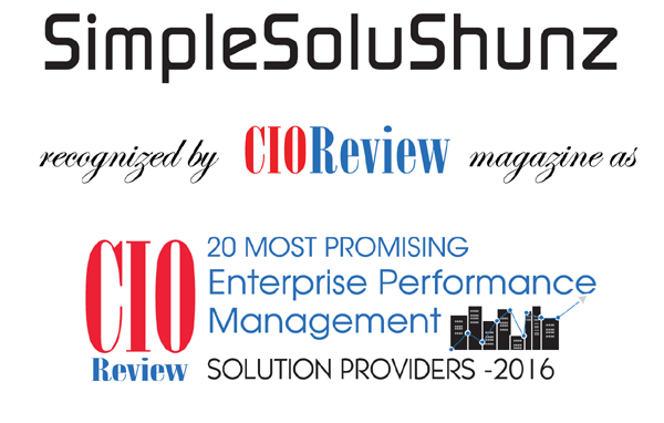 Recognized for Excellence in Enterprise Performance Management Solutions